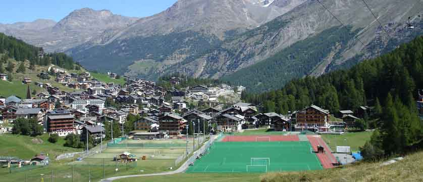 Hotel Bristol, Saas-Fee, Switzerland - View from the Hotel Bristol.jpg